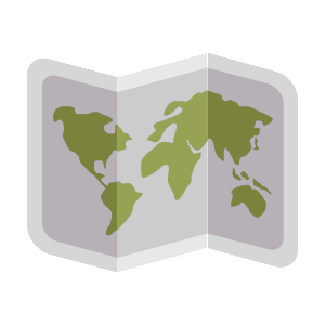 ArcView Shape File .shp fişier pictogramă